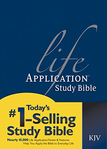 9780842316361: Life Application Study Bible: King James Version/Red Letter Edition