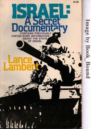 Israel: A Secret Documentary: Lambert, Lance