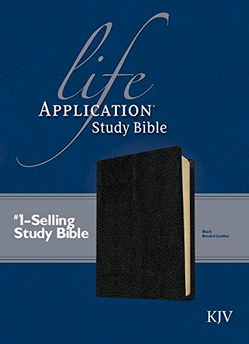 9780842320986: KJV Life Application Study Bible, Second Edition (Red Letter, Bonded Leather, Black)