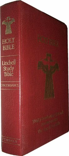 9780842321860: Lindsell study Bible : the Living Bible paraphrased : reference edition with marginal references, concordance, and maps