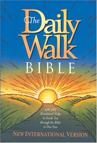 9780842322270: The Daily Walk Bible: NIV