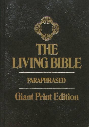 9780842322614: The Living Bible Paraphrased Large Print Edition