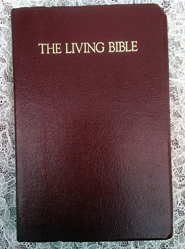 9780842322935: The Living Bible: Deluxe Award Edition (Burgundy Leatherette)
