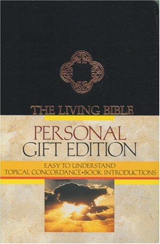 9780842323628: The Living Bible: Personal Gift Edition/Black