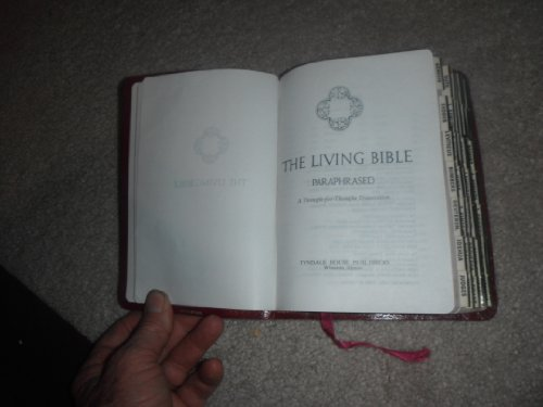 9780842324229: The Living Bible Paraphrased (A Thought for Thought Translation) (Executive Heritage Slimline Edition)