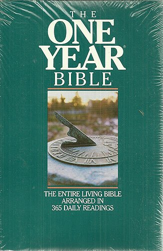 One Year Bible: The Living Bible (0842324283) by Publishers, Tyndale House