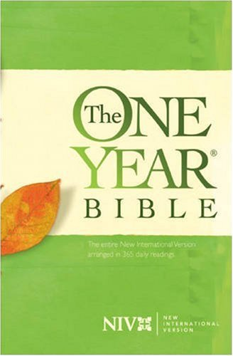 9780842324519: The One Year Bible NIV