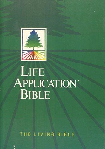 9780842325516: Life Application Bible: The Living Bible