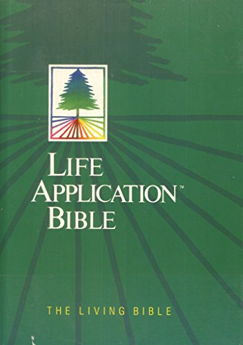 9780842325516: Life Application Bible: The Living Bible