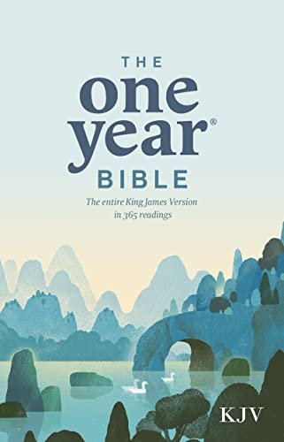 9780842325769: The One Year Bible KJV