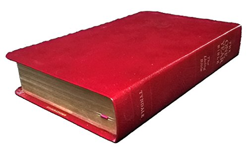 9780842325899: One Year Bible - The Living Bible - Burgundy Bonded Leather
