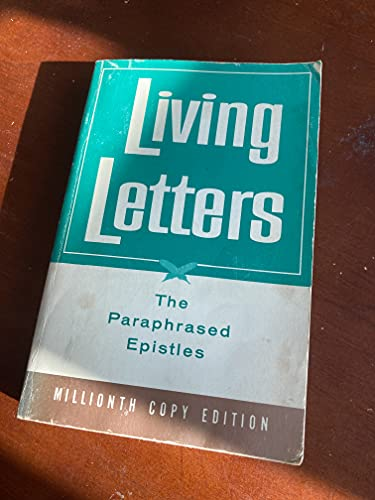 9780842326018: Living Letters: Paraphrased Epistles