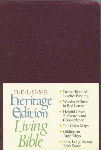 9780842326582: The Living Bible (Burgundy)