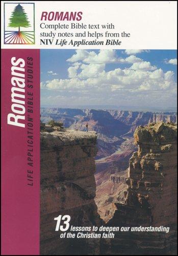 9780842327183: Romans (Life Application Bible Studies (NIV))