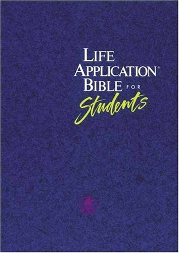 9780842327411: Life Application Bible for Students: The Living Bible