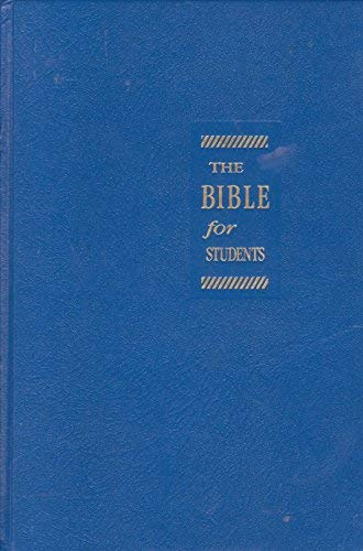 Living Bible for Students, Blue, Imitation Leather