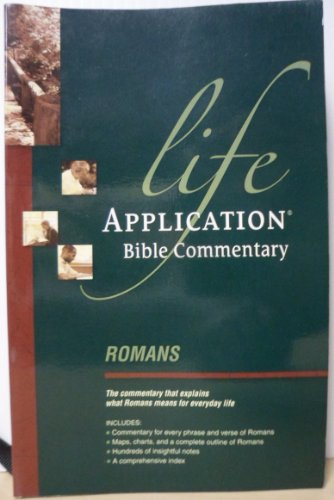 9780842328180: Romans (Life Application Bible Commentary)