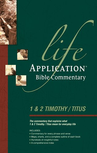 9780842328326: Life Application Bible Commentary: 1 and 2 Timothy and Titus