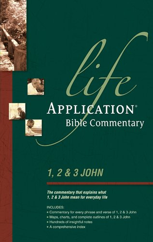 9780842328579: 1, 2, & 3 John (Life Application Bible Commentary)