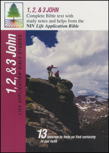 9780842328791: 1, 2, & 3 John (Life Application Bible Studies (NIV))