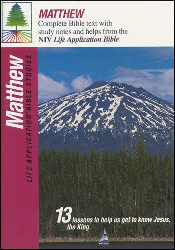 9780842328838: Matthew (Life Application Bible Studies (NIV))