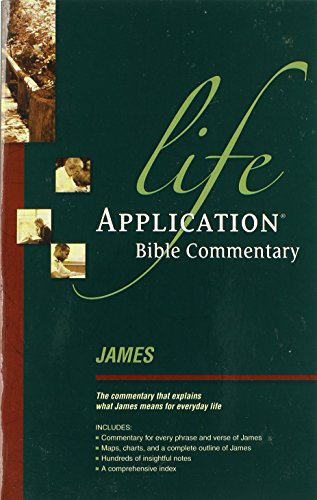 9780842328913: James (Life Application Bible Commentary)
