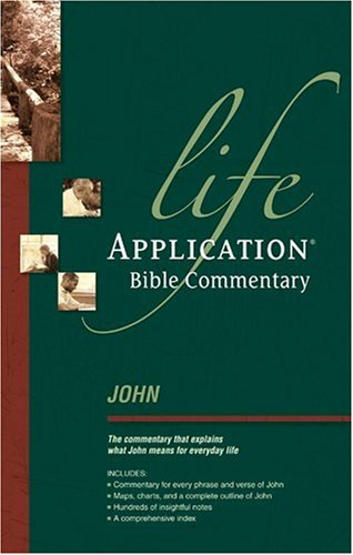 9780842328937: John (Life Application Bible Commentary)