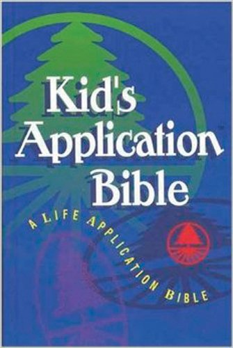 9780842329071: Kid's Application: A Life Application Bible : The Living Bible