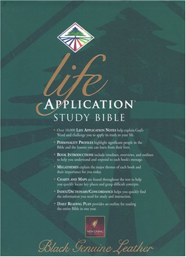 9780842332668: Life Application Study Bible, New Translation Bible : Live Out the Promises of Scripture (New Living Translation)