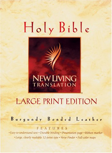 9780842332712: Holy Bible: New Living Translation, Burgundy, Indexed, Gold Edging