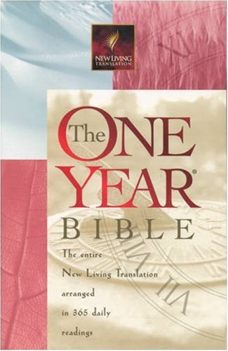 9780842332897: The One Year Bible: NLT1 (New Living Translation)