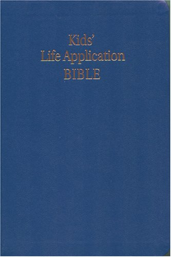 9780842332927: Kid's Life Application Bible NLT (Navy imitation leather)