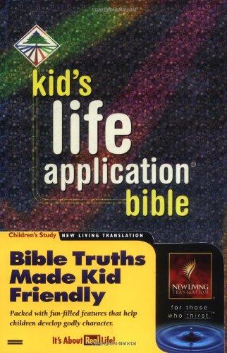 9780842332934: Kid's Life Application Bible NLT (hc)