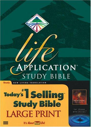 9780842332965: Life Application Study Bible Large Print: NLT1 (New Living Translation)