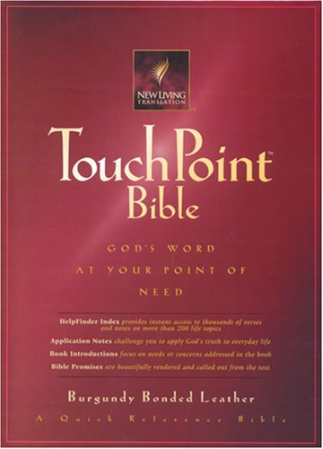 9780842333054: Touchpoint Bible: God's Word at Your Point of Need