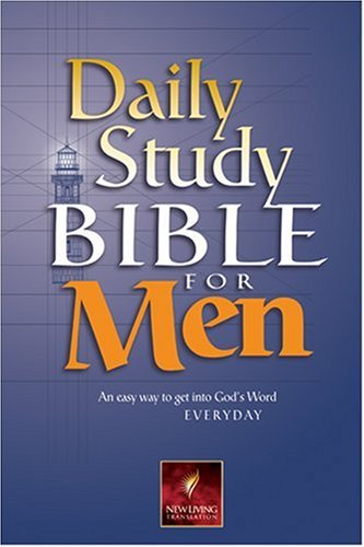 Daily Study Bible for Men (Daily Study Bible for Men) 9780842333283 Daily Study Bible for Men provides adult Christian men a fresh vision and understanding of God's Word with notes that focus specifically