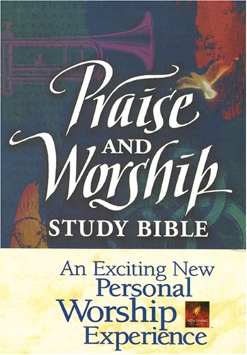 9780842333382: Praise and Worship Study Bible: New Living Translation