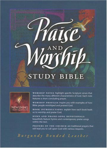 9780842333399: Praise and Worship Study Bible: New Living Translation