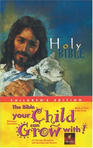 Holy New Living Children Bible