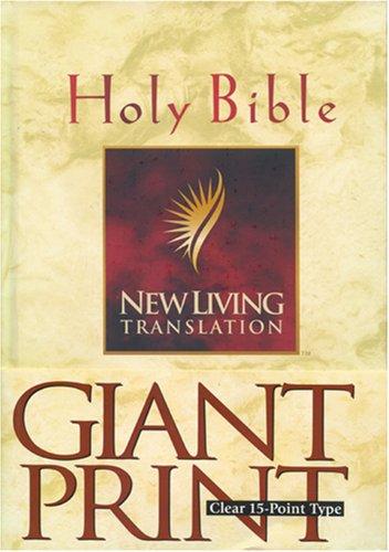 9780842333917: New Living Translation Bible (Giant Print)