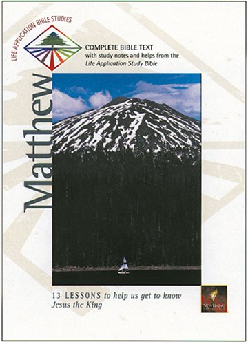 9780842334181: Matthew (Life Application Bible Studies (NLT))