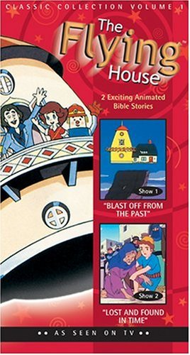 9780842334921: Blast Off for the Past & Lost and Found in Time (Flying House Video #1) [VHS]