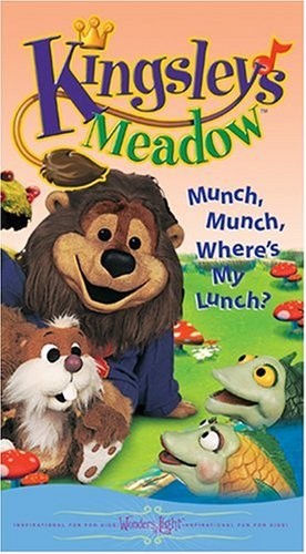 9780842335096: Kingsley's Meadow - Munch, Munch, Where's My Lunch? [VHS]