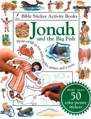 9780842335249: Bible Sticker Activity Book--Jonah and the Big Fish
