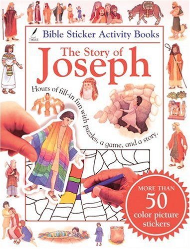 9780842335256: Bible Sticker Activity Book--The Story of Joseph