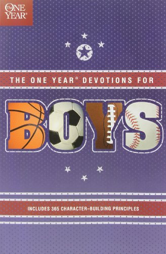 9780842336208: The One Year Book of Devotions for Boys