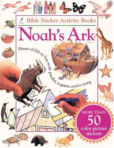 9780842336581: Bible Sticker Activity Book--Noah's Ark