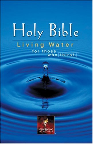 9780842340298: Holy Bible New Living Translation: Living Water Edition