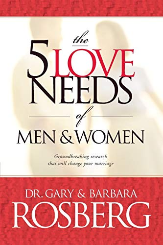 9780842342391: The 5 Love Needs of Men and Women