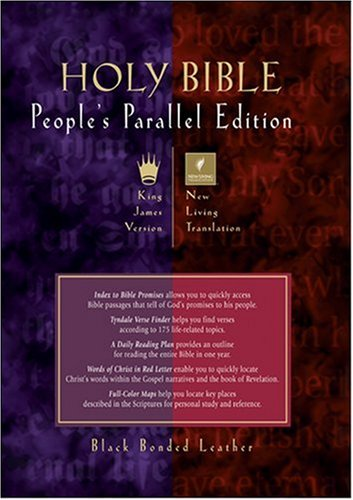 Holy Bible, People's Parallel Edition KJV/NLT